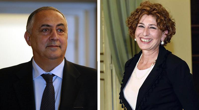 Roberto Lagalla e Mariella Ippolito