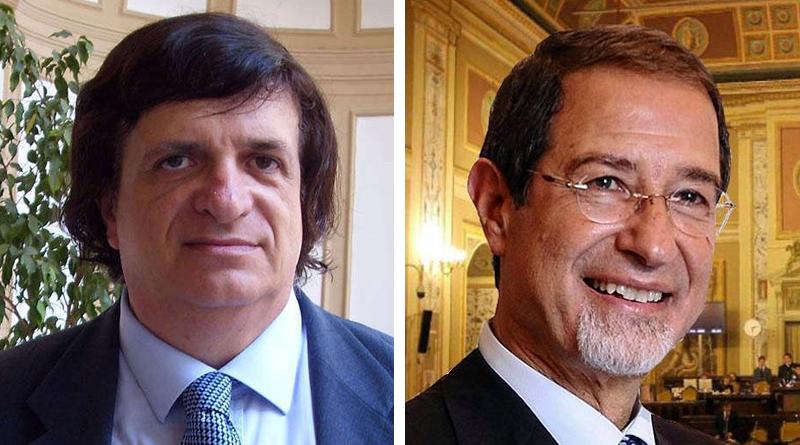 Toni Rizzotto e Nello Musumeci