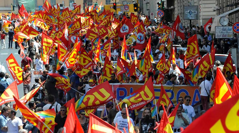 Manifestazione USB, Unione sindacale di base
