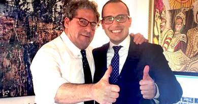 Gianfranco Miccichè e Andrea Mineo