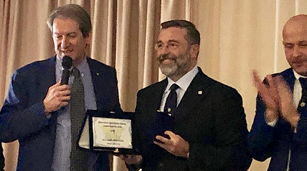 Giovanni Copioli e Angelo Pizzuto