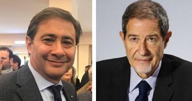 Sebastiano Cappuccio e Nello Musumeci