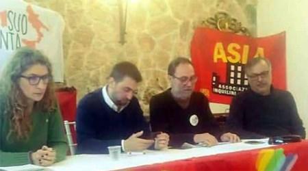 Usb Pergusa Enna. Da sinistra, Claudia Urzi', Giovanni Pagano, Orazio Vasta, Franco Bruno