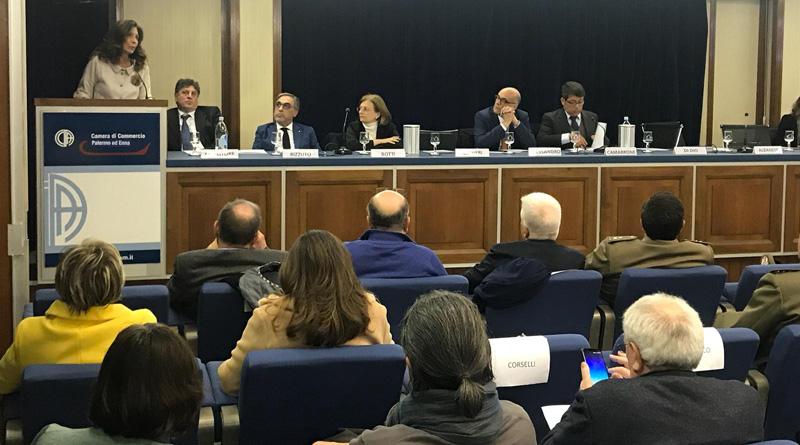 Intervento di Patrizia Di Dio al convegno su Art Bonus promosso da Assessorato Beni Culturali e Confcommercio Palermo
