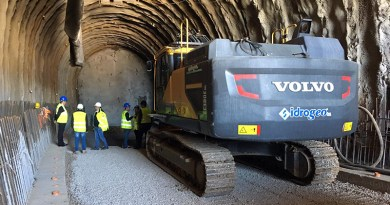 galleria raddoppio ferrovia Cefalù - Castelbuono