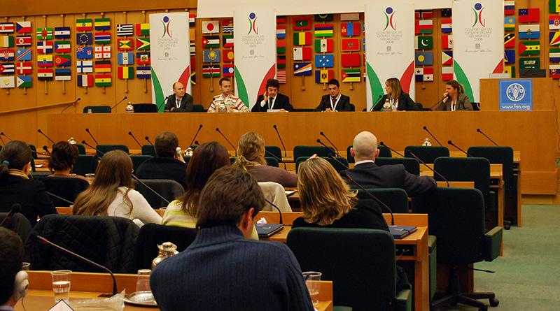 Conferenza giovani CGIE a Palermo