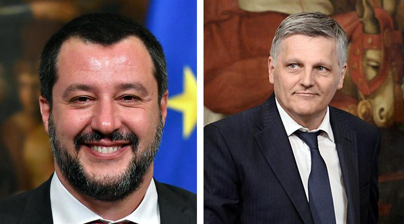 Matteo Salvini e Luigi Gaetti