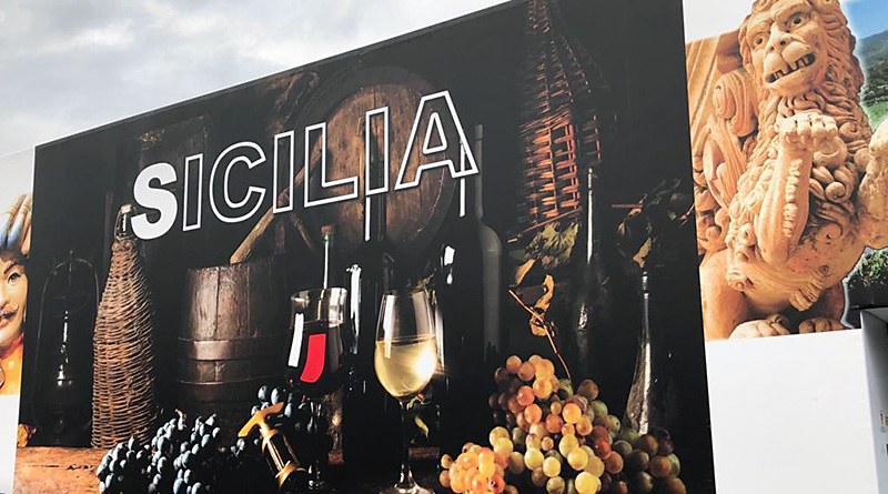 Vinitaly padiglione Sicilia