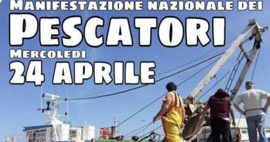 Sciopero nazionale dei pescatori indetto da Apmp e Upi il 24 aprile