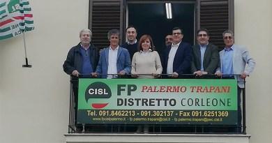 Enti locali, inaugurata ieri la sede Cisl Fp a Corleone