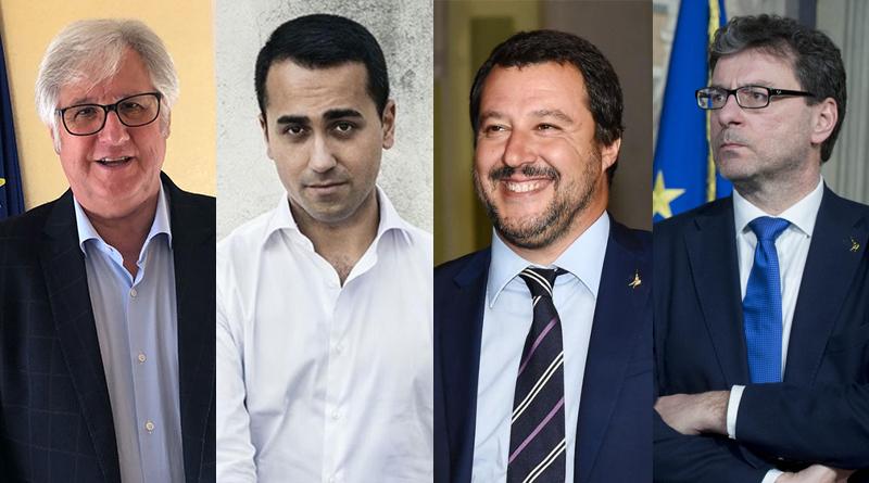 Cappadona, Di Maio, Salvini, Giorgetti