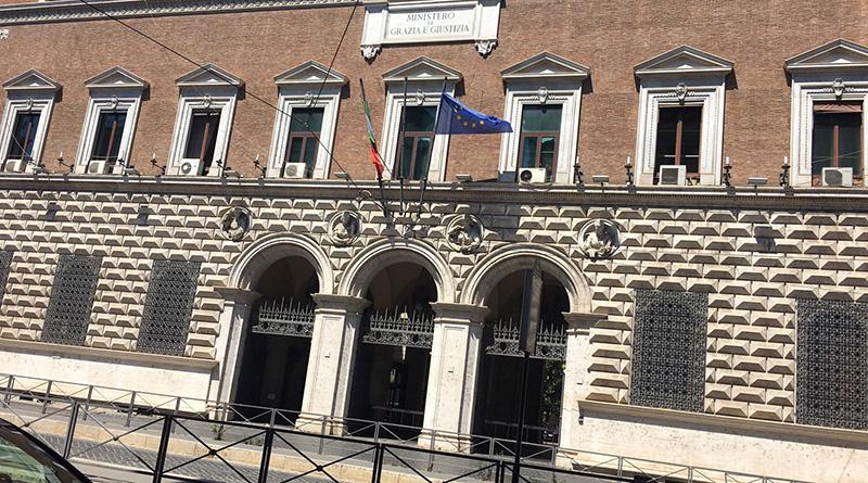 Ministero di Giustizia, via Arenula, Roma