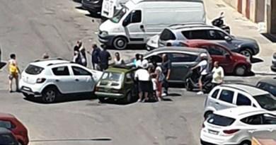 incidente stradale quartiere villa tasca, Palermo