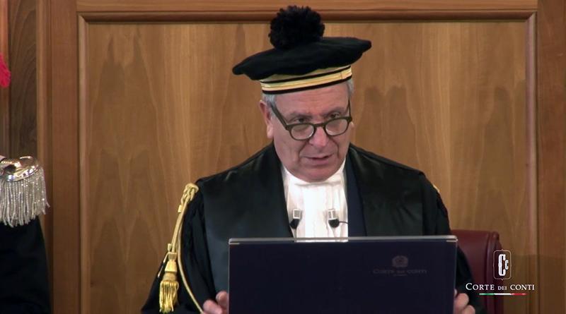 Angelo Buscema, Corte dei Conti