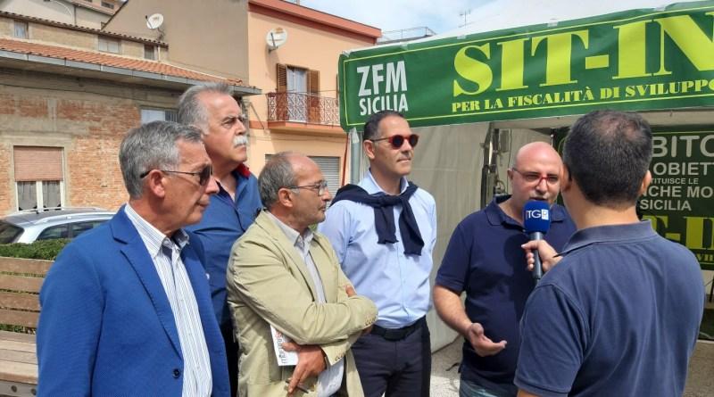 Sit-in Zfm Zone franche montane