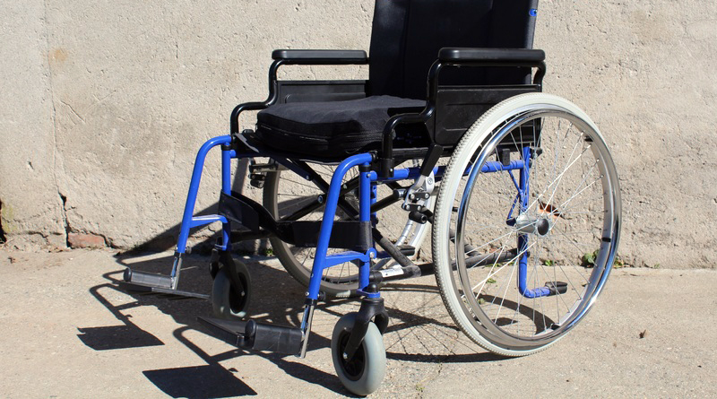 carrozzella disabili