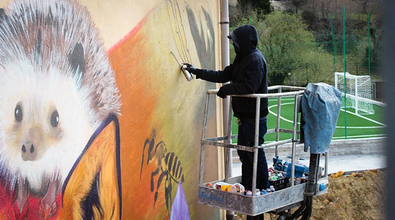 Street art Calascibetta (Enna)