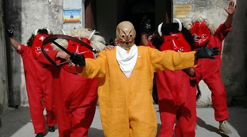 Pasqua, Ballo dei diavoli a Prizzi