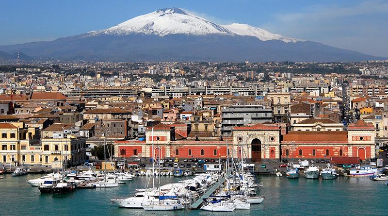 Catania Etna neve
