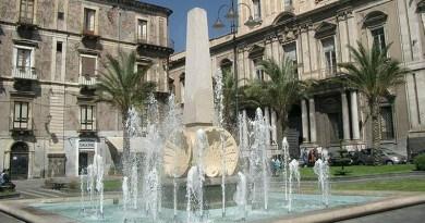 Catania, piazza Cutelli, Fontana delle Conchiglie