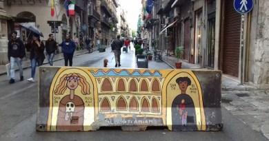 Santa Rosalia e San Benedetto il Moro. Via Maqueda, Palermo