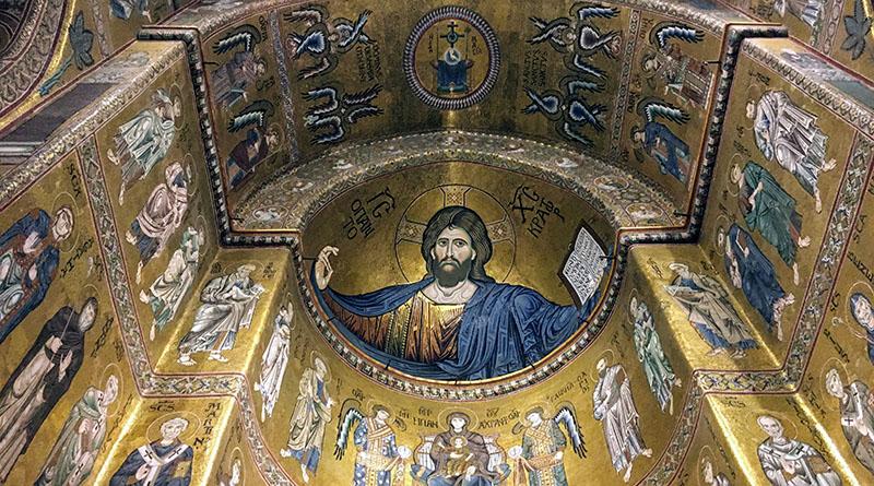 Cristo Pantocratore Duomo Monreale