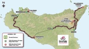partenza Sicilia Giro d'Italia 2020