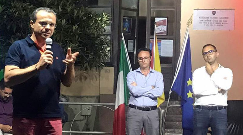 Cateno De Luca, Vincenzo Figuccia e Danilo Lo Giudice