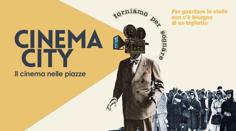 Cinema City, festival del cinema all'aperto a Palermo