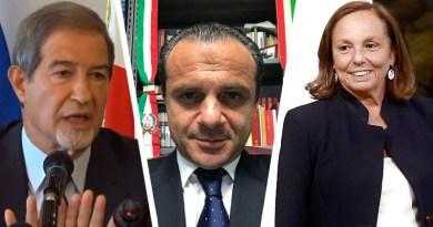 Nello Musumeci, Cateno De Luca, Luciana Lamorgese