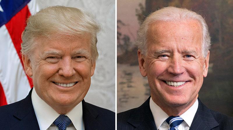 Donald Trump contro Joe Biden