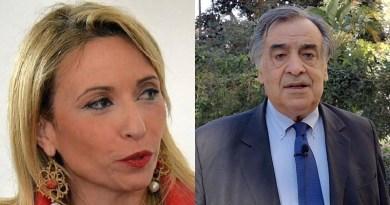 Marianna Caronia e Leoluca Orlando