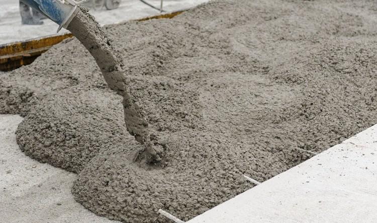Colata di cemento