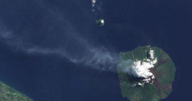 L'isola vulcanica di Manam