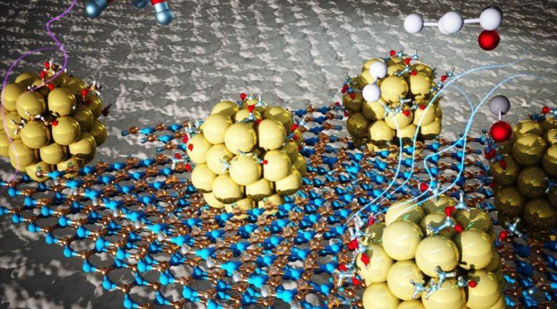 Atomi di nichel su letto di boro-azoto
