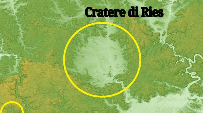 I crateri di Ries e Steinheim