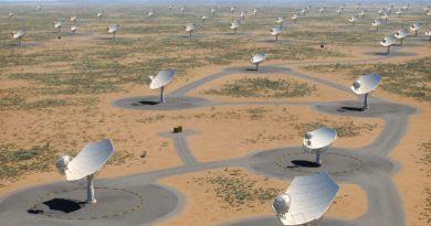 Telescopi SKAO in Sudafrica