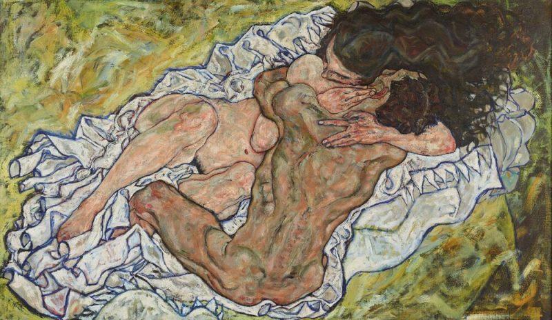 L'abbraccio di Egon Schiele