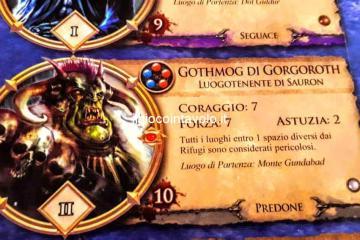 Il gioco da tavolo Il Signore degli Anelli - Avventure nella Terra di Mezzo 16