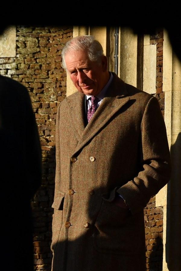 Il Principe Carlo distrutto per gli incendi in Australia