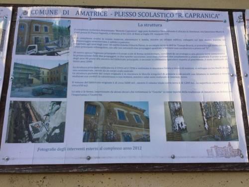 """Lo """"spot"""" della scuola di Amatrice crollata: """"Un'opera sontuosa"""" 2"""