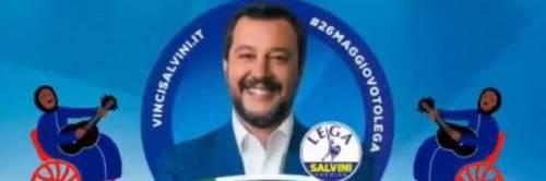 Vignette, fantocci, murales. Ecco l'odio verso Salvini 5