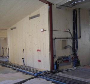 ACS. Per quanto riguarda l'impianto sanitario, la preparazione dell'acqua calda è centralizzata