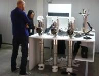 Installazioni idraulica a Pitti Fragranze