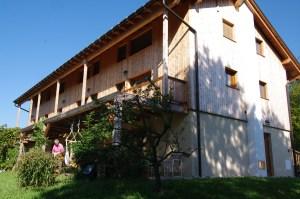L'agriturismo e bed & breakfast Campo di Cielo dopo la ristrutturazione, terminata nel 2012.