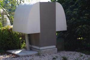 La pompa di calore condensata ad aria ELFOEnergy Horus+ installata, con potenza termica nominale in riscaldamento di 19,3 kW.