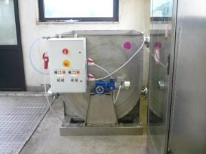 IL MINI IMPIANTO ha un consumo reale misurato durante il funzionamento di 1.2-1.5 kW/ora.
