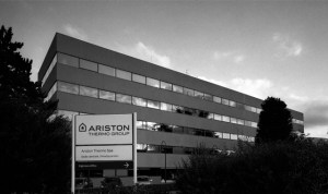 Chaffoteaux fa parte del gruppo Ariston Thermo. Nella foto l'headquarter di Fabriano (AN)