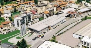 La sede dell'azienda Lira Spa di Valduggia (VC)