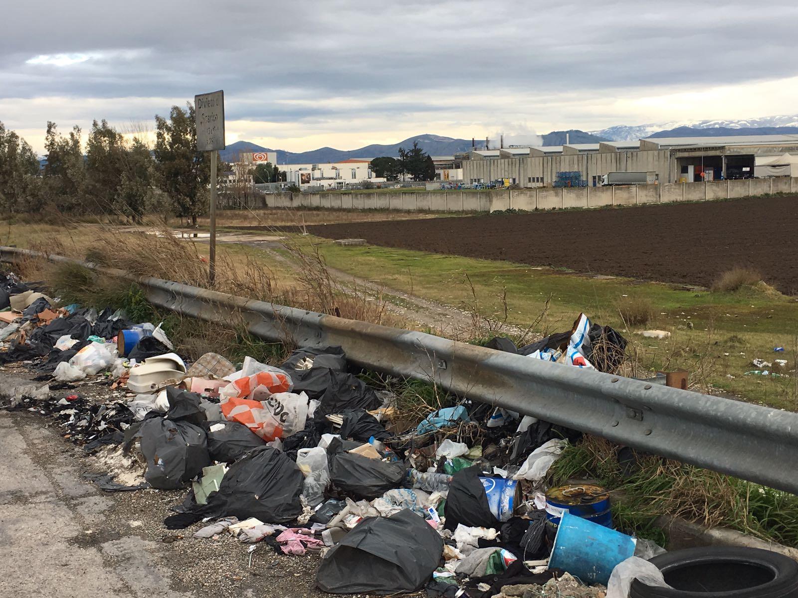 Aziende Monopoli Zona Industriale rifiuti caivano, ora bisogna fronteggiare anche il problema
